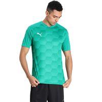 Puma Team Final 21 Graphic Jersey T-shirt - Green