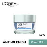 L'Oreal Paris Pure Clay Mask Anti-Blemish Blue Mask