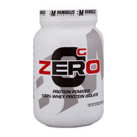 Big Muscles Nutrition Zero Protein Powder From 100% Whey Isolate Rich Chocolate Powder