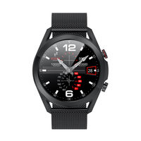 French Connection Unisex Touch Watch With Bluetooth Connected Calling Function L19-B (One Size)