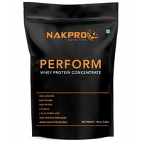NAKPRO Perform Raw Whey Protein Concentrate With Added Digestive Enzymes - Unflavoured
