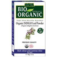 Indus Valley Bio Organic Indigo Leaf Powder (indigofera Tinctoria)