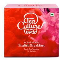Tea Culture of The World English Breakfast Tea Sachets