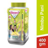 Glucon D Instant Energy Health Drink Nimbu Pani - Jar