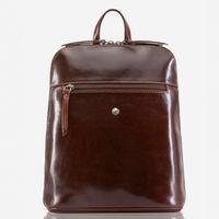 """Jekyll & Hide 3458oxto Oxford 13"""" Slim Ladies Laptop Backpack - Tobacco"""