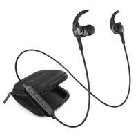 RAEGR Airbeats 250 Wireless Earphones, Bluetooth Earphones With Mic Wireless Headphones - Black