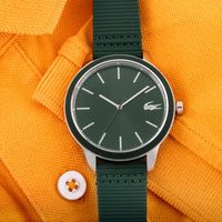 Lacoste L.12.12 2011085 Green Dial Analog Watch For Men