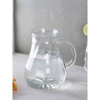 Oberglas Salzburg Water,juice,milk,cocktail,whiskey Glass Jug Set, 500ml, Set Of 2, Transparent