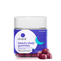 Nyumi Beauty Sleep Gummies with Melatonin, Chamomile and Tagara Root