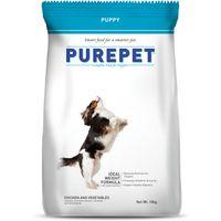Purepet Chicken & Veg Puppy Dog Food