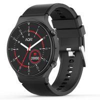 "AQFIT W9 Bluetooth Calling Smartwatch 1.33"" HD IPS Display (Black)"