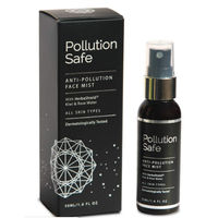 Pollution Safe Anti-Pollution Face Mist With Herbashield Kiwi & Rose Water