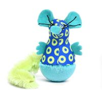 Heads Up For Tails Meow Monsters Squirrel Cat Toy