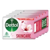 Dettol Skincare Germ Protection Bathing Soap Bar Buy 4 Get 1