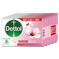 Dettol Skincare Germ Protection Bathing Soap Bar Buy 3 Get 1