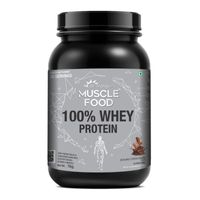 Dr. Morepen Muscle Food 100% Whey Protein - Double Chocolate Flavour