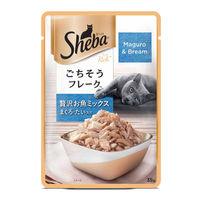 Sheba Premium Wet Cat Food Food- Fish Mix (Maguro & Bream)
