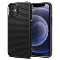 Spigen Liquid Air Designed For Iphone 12 Mini Case Cover (2020) - Black