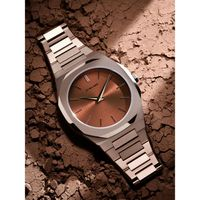 D1 Milano Soleil Brown Dial Watches For Men - Utbj10
