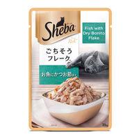 Sheba Premium Wet Cat Food Food- Fish with Dry Bonito Flake