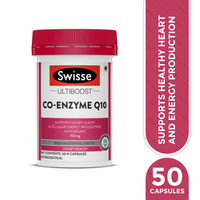 Swisse Co Enzyme Q - 10 Supplement for Healthy Heart & Energy Metabolism