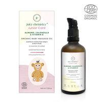 Juicy Chemistry Almond,Calendula & Vitamin E - Organic Baby Massage Oil