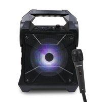 Gizmore Portable Speaker 1000W Pmpo Bt Multiple Conectivity Playback Upto 3Hr Wireless Mic