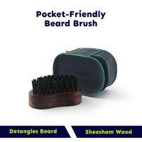 Beardinator Pocket Wooden Beard Brush For Men