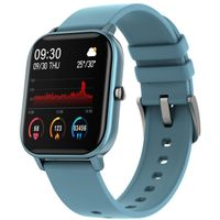 Fire-Boltt Spo2 Full Touch 1.4 Inch Smartwatch 8 Days Battery Ipx7 With Heart Rate, Bp, Fitness Blue