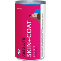 Drools Absolute Skin + Coat Syrup - Dog Supplement