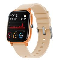 Fire-Boltt Spo2 Full Touch 1.4 Inch Smartwatch 8 Days Battery Ipx7 With Heart Rate, Bp, Fitness Gold