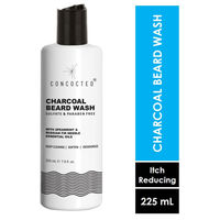CONCOCTED Charcoal Sulphate & Paraben Free Beard Wash