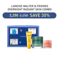LANEIGE Walter & Friends Overnight Radiant Skin Combo
