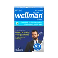Wellman Health Supplements (21 Essential Vitamins And Minerals)