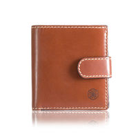 Jekyll & Hide 9265tecl Texas Trifold Wallet With Coin And Tab- Clay
