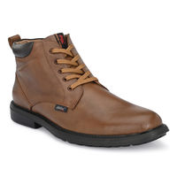 Hitz Tan Leather Boots