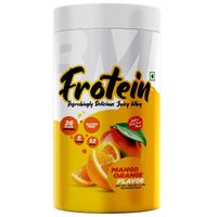 Big Muscles Frotein Refreshing Hydrolysed Whey Protein Isolate - Mango Orange