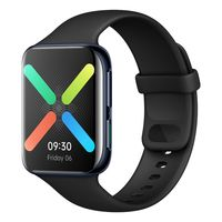 OPPO Health & Fitness Smart Watch 4.6 cm, Heart Rate Monitor Upto 21 Days Battery Life (Black)