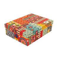 Chumbak Floral Swirls Storage Box L