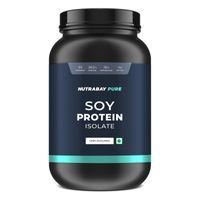 Nutrabay Pure 100% Soy Protein Isolate - Unflavoured