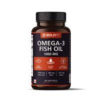 Boldfit Omega-3 Fish Oil 1000mg