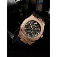 D1 Milano Black Dial Watches For Men - Skrj03