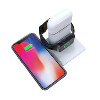 UNIGEN AUDIO Unidock 150   3 In 1 Type-c Pd Wireless Charging Station For Iwatch/airpods/iphone
