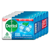 Dettol Cool Germ Protection Bathing Soap Bar Buy 4 Get 1