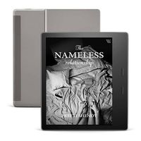 """Amazon All-New Kindle Oasis (10th Gen) Now with adjustable warm light,7"""" Display,8 GB(Graphite)"""