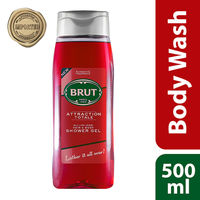 Brut Attraction Total All - In- one Hair & Body Shower Gel