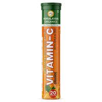 Himalayan Organics Vitamin C, Immunity Booster, Anti-oxidant Supplement - Orange Flavor