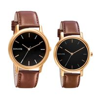 Sonata 71288164WL01 Black Dial Analog Watch For Couple