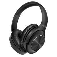 UNIGEN AUDIO Quitebeats Wireless Over Ear Headphones With Active Noise Cancelling & Dual Mic