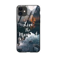ToCloset Live The Moment Iphone 12 Glass Case Cover